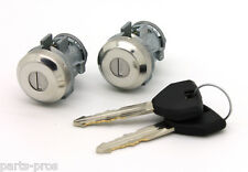 NEW Lockcraft Door Lock Cylinder PAIR / FOR LISTED DODGE CHRYSLER & JEEP MODELS