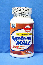 New Vitality Ageless Male Testosterone Booster Tablets 60 Count