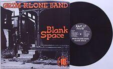 Grim Klone Band - Blank Space LP Accelerators Breakdowns TMA New Jersey Punk KBD