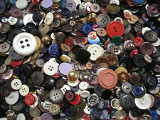 2 lbs. bag of Assorted New Colorful Metal & Plastic Buttons