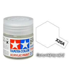TAMIYA COLOR X-20A Thinner Model ACRYLIC PAINT 10ml Free Shipping New In Stock