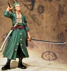 Japan Anime One Piece Figuarts Zero Roronoa Zoro Figure New World Ver. In Box