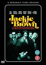 JACKIE BROWN DVD 2 DISC COLLECTOR'S EDITION PAM GRIER TARANTINO New UK