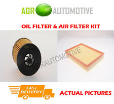PETROL SERVICE KIT OIL AIR FILTER FOR VAUXHALL ASTRA 2.2 147 BHP 2000-05