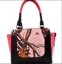 Conceal Carry Pink Camo Purse - Handbag Mossy Oak