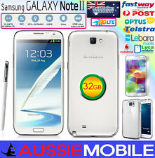 Samsung Galaxy Note2 4G LTE 32GB Unlocked WHITE 100%GENUINE SAMSUNG