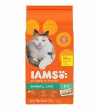 NEW Iams Proactive Health Hairball Care Dry Cat Food - 7 lb Bag
