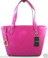 Ralph Lauren Sloan Street Shopper Pink Sapphire agsbeagle #BagsFever