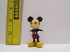 WALT DISNEY MINIATURE MICKEY MOUSE PLAY FIGURE 2 & 1/2 INCHES TALL DOLL SIZE