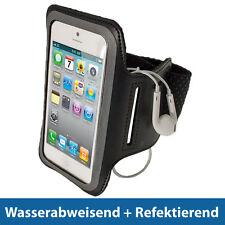 Schwarz Anti-Rutsch Sports Armband für Neue Apple iPhone 5 5S 5C 4G LTE Oberarm