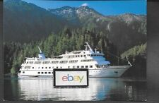 CLIPPER CRUISE LINE M.V. YORKTOWN CLIPPER IN ALASKA SHIP ISSUED POSTCARD
