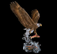 "Starlite Originals ""Clear Waters"" Eagle Sculpture Statue by Kitty Cantrell-New!"