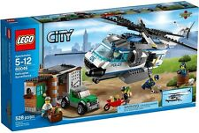 Lego City Police Helicopter Surveillance Building Set 60046 New MISB