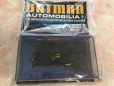 Batman Automobilia Batman & Robin Movie Batmobile Eaglemoss Complete
