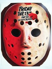 Friday the 13th Part VII: The New Blood Jason promotional mask video store promo