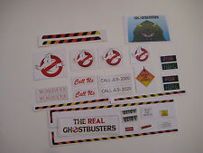Custom Kenner The Real Ghostbusters Ecto 1 Replacement Stickers - B2G1F