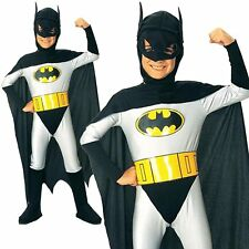 Batman Superhero Boys Childs Halloween Party Fancy Dress Costume One Size Yr 3-7