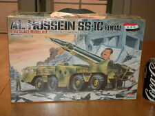 IRAQ WAR, AL HUSSEIN SS-1C REMADE, SCUD MISSILE SYSTEM, PLASTIC MODEL KIT : 1/48