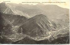 CHATILLON-EN-DIOIS vue panoramique éd augoyard timbrée 1914
