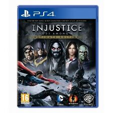 Injustice Gods Among Us Ultimate Edition Game Of The Year PlayStation 4 PS4 NEW