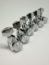 Set chrome locking tuners made in Korea 6R  Set clavijero con bloqueo cromado