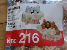 Hamster Nanoblock Micro Sized Building Block Mini Construction Brick NBC216
