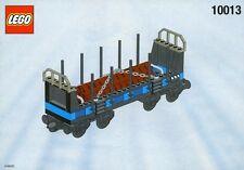 LEGO Eisenbahn My Own Train 10013 Offener Frachtwagon mit Anleitung