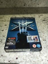 X-men Trilogy Box Set DVD Collectors Edition 1.5 X-Men 2 The Last Stand & Comic