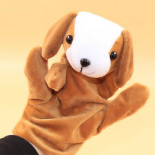 1 PC Baby Kids Child Animal Dog Finger Puppet Infant Kid Toy Plush Toys A