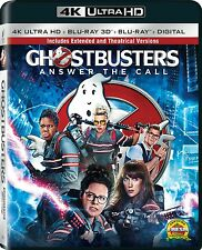 Ghostbusters - Answer The Call [4K ULTRA HD DISC ONLY!!!] EXTENDED EDITION!!!!!!