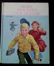 More Fun with Our Friends VTG Dick & Jane Book Teacher Ed 1962 Scott Foresman