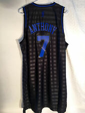 Adidas Swingman NBA Jersey Knicks Carmelo Anthony Black Groove sz XL