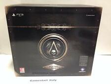 ASSASSIN'S CREED 4 IV BLACK FLAG BLACK CHEST COLLECTOR'S EDITION PS3 NUOVO NEW