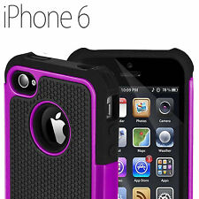 NEW SHOCK PROOF DEFENDER CASE ARMOUR SERIES BACK COVER FOR APPLE iPHONE 6 4.7""