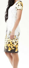 "NEW SIZE 10 STUNNING ""OASIS"" FLORAL PRINT DRESS, WEDDING, PARTY"
