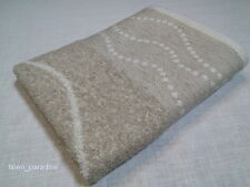 LUXURIOUS LINEN BLEND Terry Bath Gym TOWEL Organic Flax Naturally Antimicrobial
