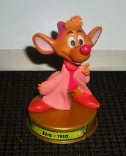 "DISNEY 100 YEARS OF MAGIC CINDERELLA JAQ THE MOUSE 3"" TOY FIGURE CAKE TOPPER"