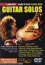 LICK LIBRARY Learn to Play Classic Rock Solos EAGLES Van Halen Lesson GUITAR DVD
