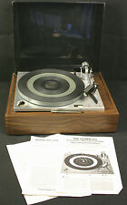 Vintage FISHER 501 / Perpetuum Ebner 2020 Automatic Manual Turntable