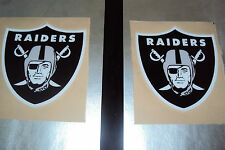 Oakland Raiders Football Helmet Decals Full Size