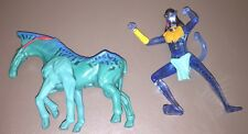2 Piece Lot Of McDonald's Happy Meal Toys Avatar Figure & Horse