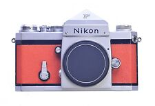Nikon F W/Eye Level Finder Replacement Cover - Laser Cut Genuine Leather