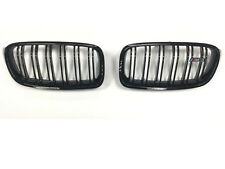 BMW F30 F31 3 Series Kidney Grill Grille Gloss Black M3 Look with M3 Emblem