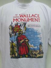 The National (William) Wallace Monument SCOTLAND Braveheart t shirt
