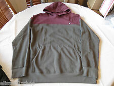 Quiksilver long sleeve shirt hoodie XL xlarge RSS0 Upper Hand Men's NEW NWT