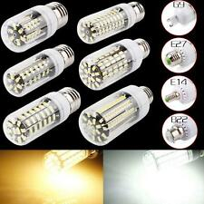 E27 18W 64LED 5733 SMD Cover Corn Spot Light Lamp Bulb Warm White 110V