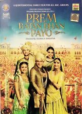 Prem Ratan Dhan Payo (2015) Salman Khan, Sonam Kapoor - Official Hindi Movie DVD
