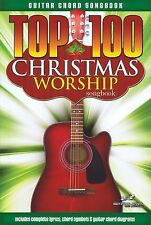 Guitar Chord Songbook: Top 100 Christmas Worship Guitar Songbook (2014,...