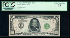 AC 1928 $1000 Cleveland ONE THOUSAND DOLLAR BILL PCGS 55