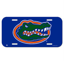 FLORIDA GATORS CAR AUTO PLASTIC LICENSE PLATE TAG LOGO NCAA